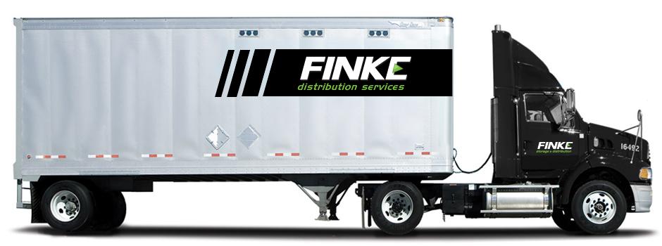 Finke Distribution Services Truck